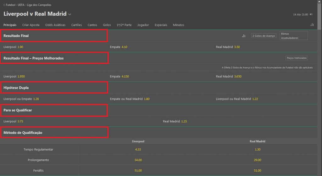 Como fazer a sua primeira aposta na Bet365? 2