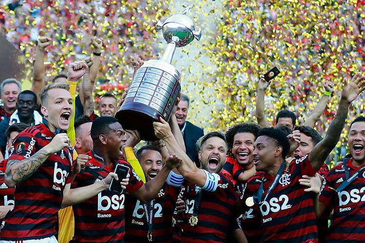 Flamengo campeão da Copa Libertadores