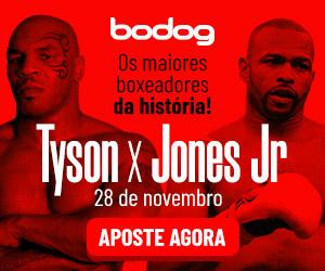 Jones x Tyson Bodog Apostas